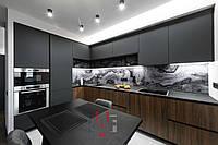 Кухня под ключ ГМ-17 МДФ покраска   /  3.3 х 2.2 м