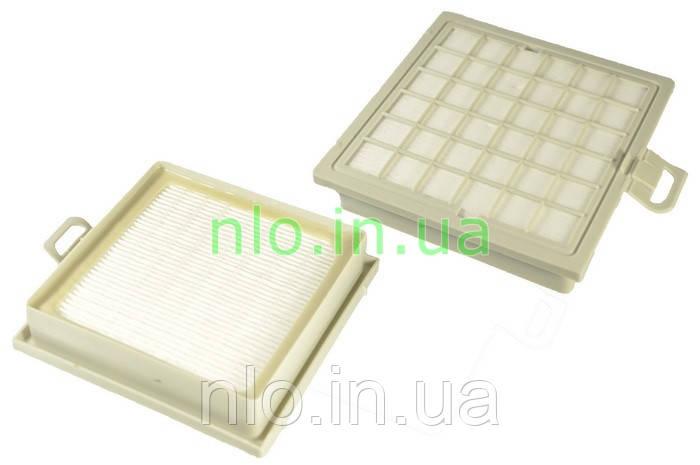 HEPA фильтр для пылесоса Bosch 483774 (черная рамка)
