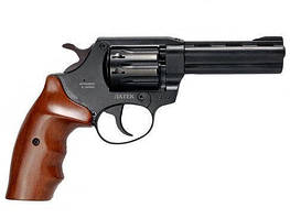 Револьвер под патрон флобера Safari РФ 441М с рукояткой орех