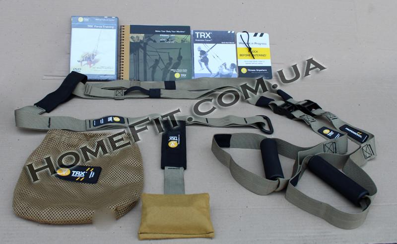 """Петли TRX Force Kit T1 (подвесные)  - """"HomeFit"""" интернет-магазин спортивного инвентаря и тренажеров в Днепре"""