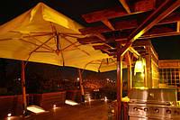 Зонт консольный Палладио 3х4м для террасы, летних площадок.