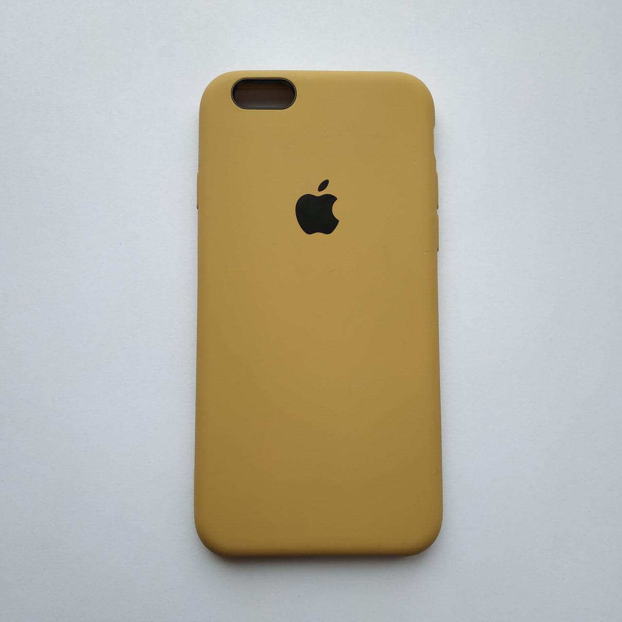 Накладка Silicone Case для Apple iPhone 6 iPhone 6S Gold