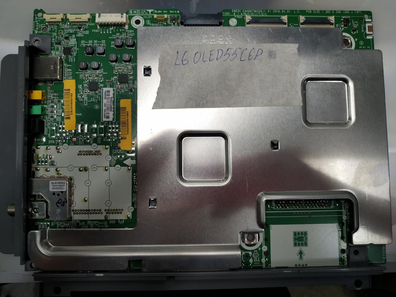 Материнская плата EAX66736206 для телевизора LG OLED55C6P, OLED65C6P