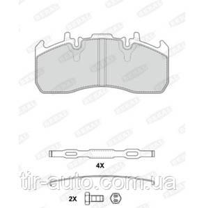 Колодки тормозные RVI Magnum/Premium Volvo Meritor Elsa 225-1 ( 216,2*97*29,2 ) ( BERAL ) 2917329004195724