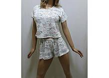 Пижамка с шортами и футболкой, размеры от 42 до 50, фото 2