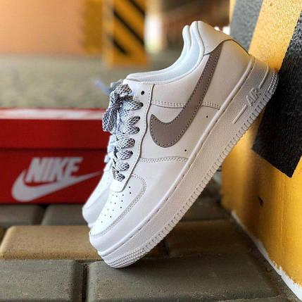 Женские и мужские кроссовки Nike Air Force 1 Low Рефлективные, фото 2