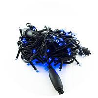 Уличная новогодняя светодиодная гирлянда 2.5Line 100B-U синяя 100Led, фото 2