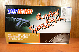 Комплект центральных замков на 4 двери и блок управления TOP CARD E315
