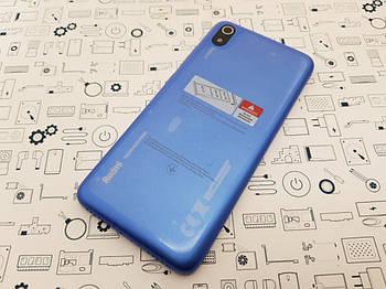 Крышка Xiaomi Redmi 7A синяя Сервисный оригинал с разборки
