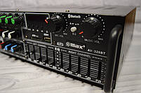 Усилитель мощности звука UKC / MAX AV-326BT Bluetooth, фото 4