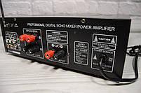 Усилитель мощности звука UKC / MAX AV-326BT Bluetooth, фото 7