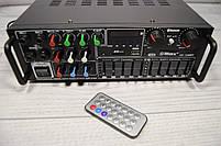 Усилитель мощности звука UKC / MAX AV-326BT Bluetooth, фото 9