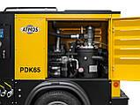 Дизельный компрессор Atmos PDK 65 - 7 м3/мин, фото 2