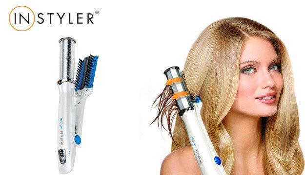 Утюжок плойка для укладки волос Instyler Wet 2 Dry