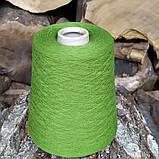 100% шерсть шетландской овцы , молодая зелень, фото 3