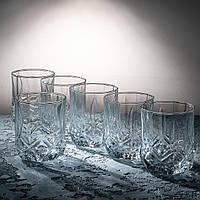 """Набор низких стаканов 280 мл """" Снежинка"""" 6 шт.ПУ"""