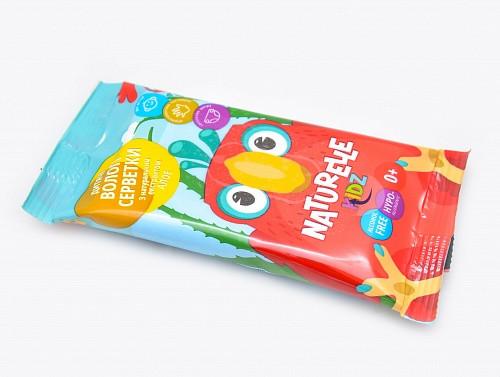 Влажные салфетки детские Naturelle Kidz Алоэ 10 шт