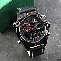 Часы мужские кварцевые Xierwa XW-828 Black-Red AB-1055-0002