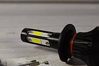 LED-лампы F7 с цоколем H7 6500K 9000Lm (лед лампы с активным охлаждением и влагозащитой)+ПОДАРОК!, фото 5
