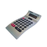 Калькулятор настольный Волна пластиковый с мягкой клавиатурой