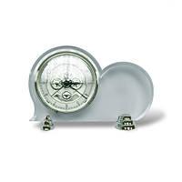Часы Презентабельные настольные серебро, VR 141001