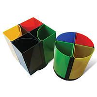 Подставка настольная пластиковая для письменных принадлежностей