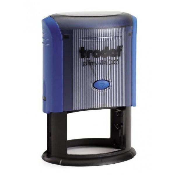 Оснастка для штампа пластиковая овальная Trodat Printy 44045 45х30 мм синяя