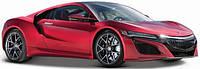 Автомодель (1:24) 2017 Maisto Acura NSX красный