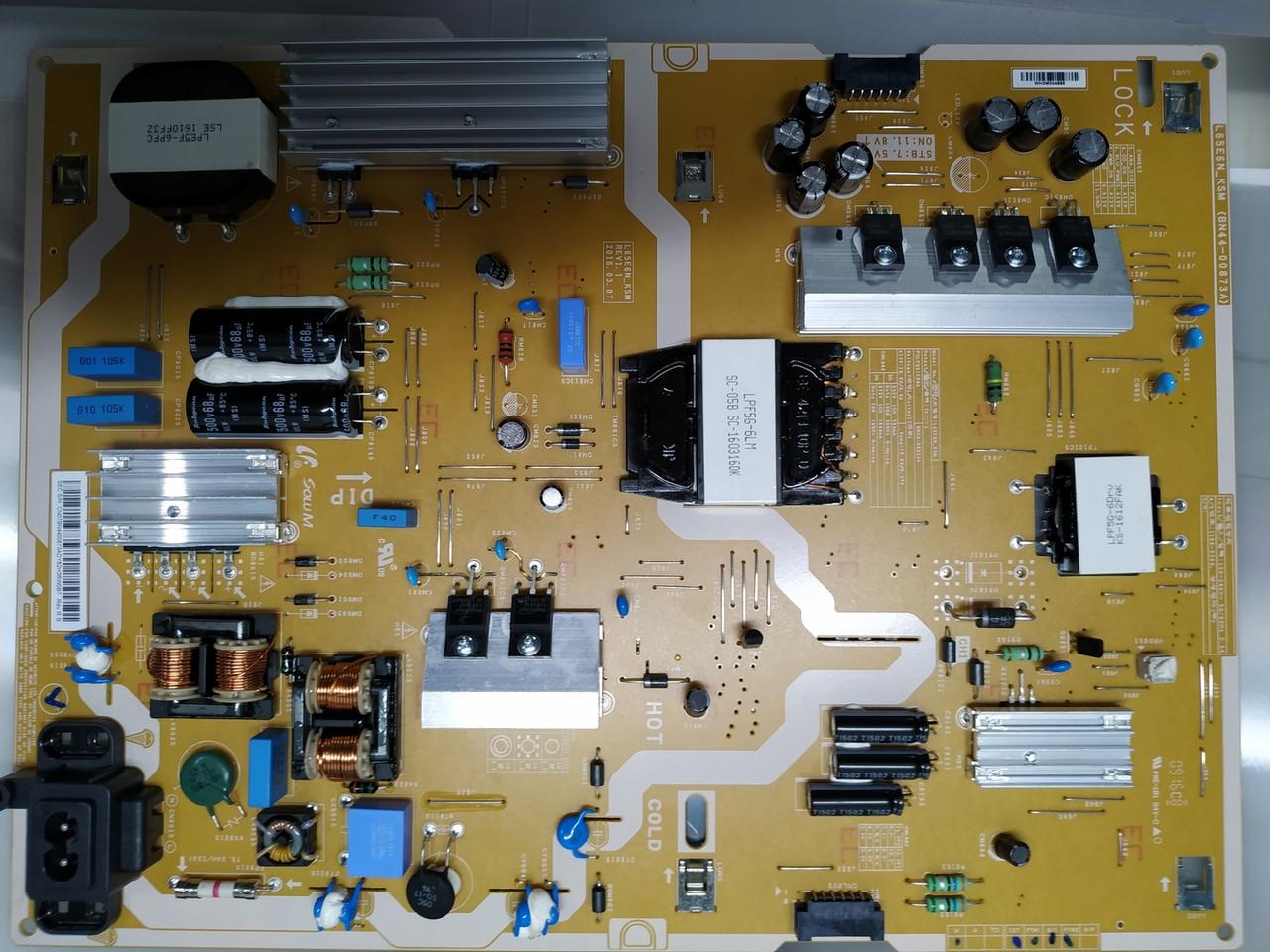 Блок Питания BN44-00873A (Rev 1.1) L65E6N_KSM для телевизора Samsung UN65KU7500, UN65KU7000, UN65MU7500, UN65
