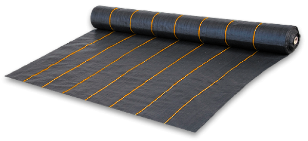 Агроткань против сорняков PP, черная UV, 90 г/м², размер 3,2 х 100м, AT9432100