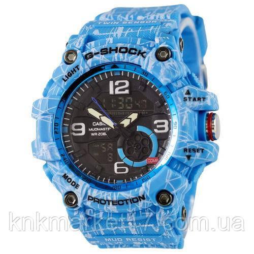 Casio G-Shock GG-1000 Mud-Light-Blue