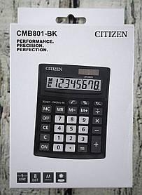 Калькулятор настольный Citizen №СМВ-801 ВК