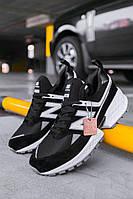 Кроссовки мужские весенние осенние качественные модные New Balance 574 sport 2019 Black/White