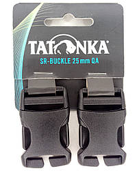 Застёжка-фастекс 25мм для ремней (2 шт.) Tatonka SR-Buckle QA чёрная