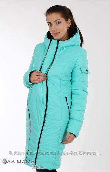 7d12d3be55bb По центру вставка на молнии для животика, которая превращает стильное  молодежное пальто в изделие для беременных. Можно равноценно носить на две  стороны ...