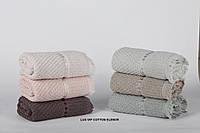Набор махровых банных полотенец Lux Cotton Elenor Cestepe 6 шт Турция