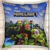 Подушка Minecraft Heroes
