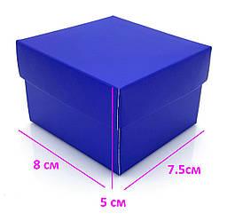 Коробка для Часов подарочная, синяя
