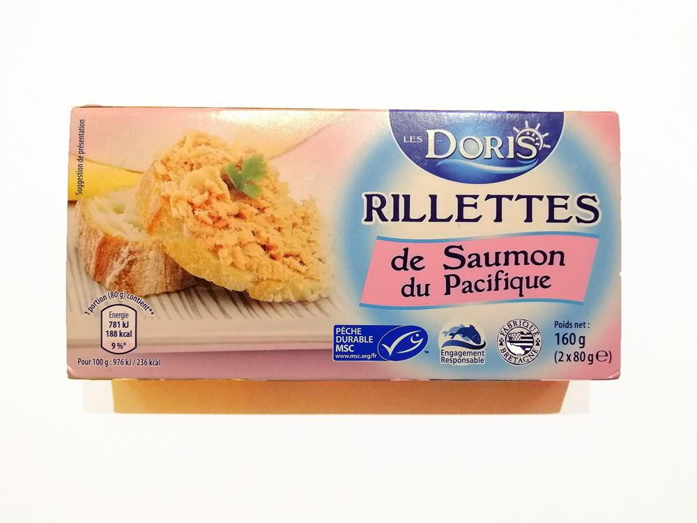 Паштет из лосося Le`s Doris Rillettes de Saumon