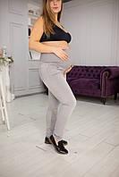7254 Джинси для вагітних сірі, фото 1