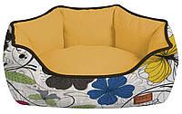 Лежанка для собак Croci COZY FLO 50*40*17 см (цветы)