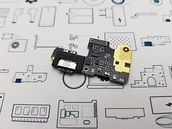 Плата нижняя Xiaomi Mi A3 (M1906F9SH) Сервисный оригинал с разборки