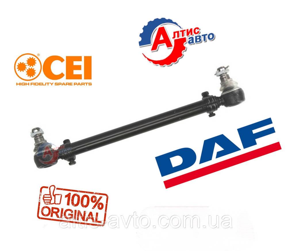 Продольная рулевая тяга Даф  65CF, CF75, 85, XF 105 длина (L-590мм) регулируемые наконечники