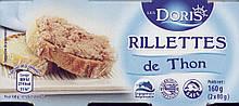 Паштет из тунца Les Doris Rillettes de Thon