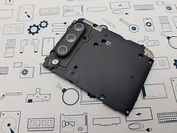 Средний корпус Xiaomi Mi A3 (M1906F9SH) со стеклом камеры Сервисный оригинал с разборки