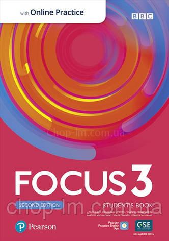 Focus 3 Second Edition Student's Book with Online Practice / Учебник с онлайн тетрадью, фото 2