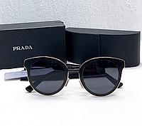 Солнцезащитные очки с поляризацией в стиле PRADA (15130) black