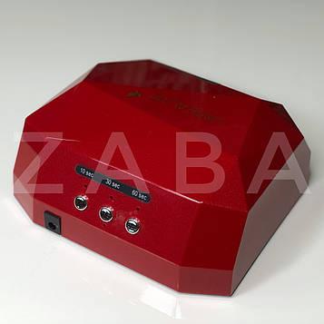 LED+CCFL Lamp Diamond 36W для геля, гель-лака, цвет в ассортименте
