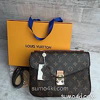 Женская кожаная сумка Louis Vuitton Metis Луи Виттон Метис