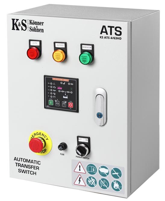 Блок автоматики Konner&Sohnen KS ATS 4/63HD